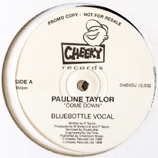 "Pauline Taylor ‎- Come Down (12"") (Promo) (VG/G)"